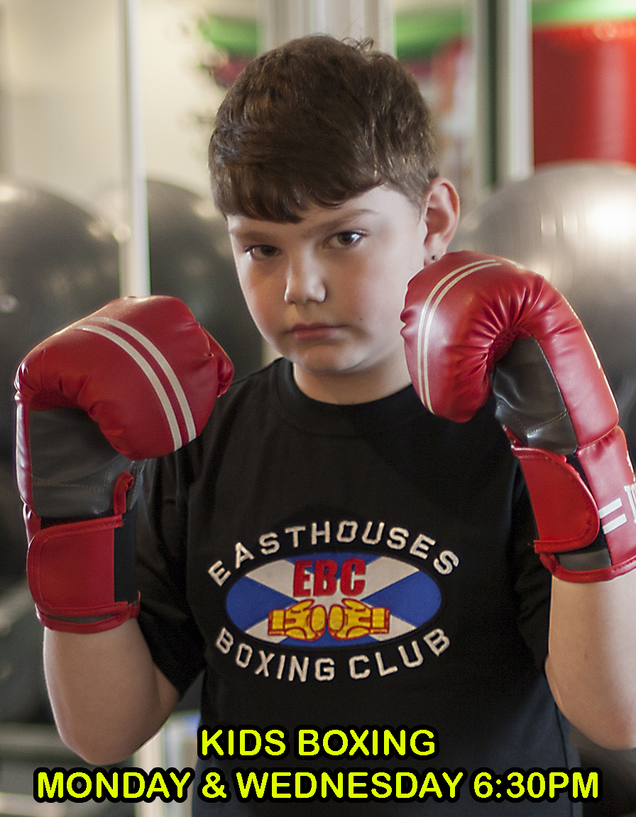 Kids Boxing Easthouses Boxing Club